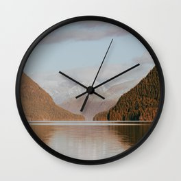 Alouette Lake Wall Clock