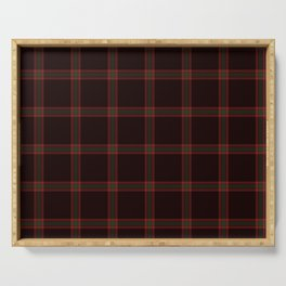Anias Plaid by Maeve Rembold Serving Tray