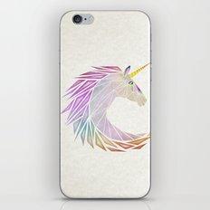 unicorn cercle iPhone & iPod Skin