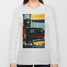 Taxicab Driver (Color) Long Sleeve T-shirt