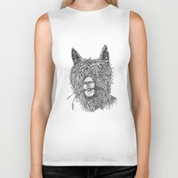 hollywood Biker Tanks featuring Hollywood Smile by Peerless Designs Art