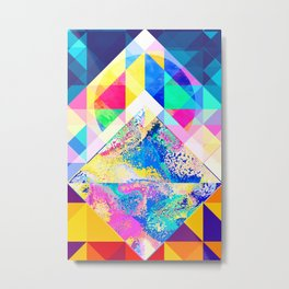 Geometric XXX Metal Print