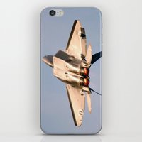 aviation iPhone & iPod Skins featuring Aviation F-22 Raptor Air Show USAF by Aviator