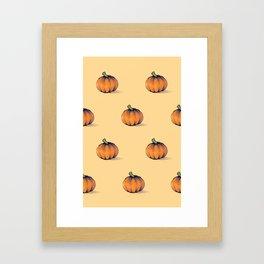 Les citrouilles Framed Art Print