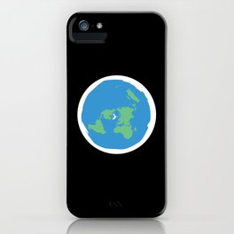 Flat Earth Ice Wall. - Gift iPhone Case