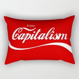 Enjoy Capitalism Rectangular Pillow