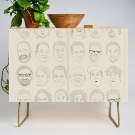 36 Funny People Credenza