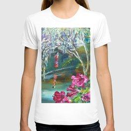 Japanese Garden Flowers T-shirt
