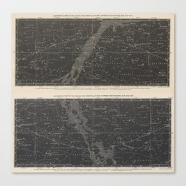 star map Canvas Print