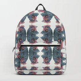 Maran Hen Chicken Watercolor Painting Artwork Backpack