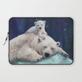 Polar Bears Laptop Sleeve