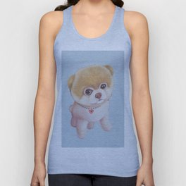 Cute puppy. Unisex Tank Top