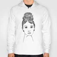audrey Hoodies featuring audrey by osvaldo