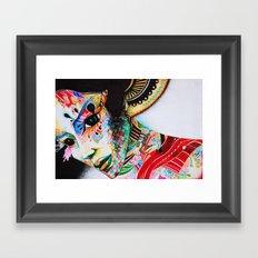 Portre Framed Art Print