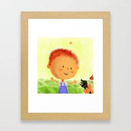 Happinness Framed Art Print