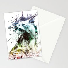 predation instinct Stationery Cards