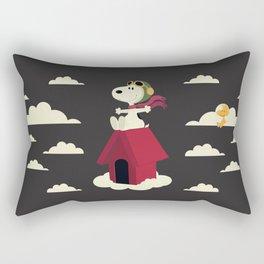 Snoopy - Red Baron Rectangular Pillow
