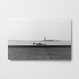 Battery Park, New York Metal Print