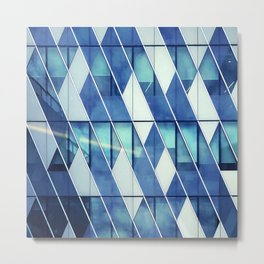 Architectural Geometries Metal Print