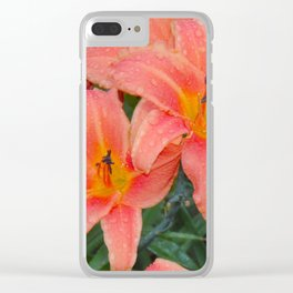 """""""Eventide Rain (ii)"""" by ICA PAVON Clear iPhone Case"""