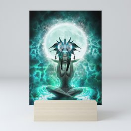 Selene - Moon Goddess - Visionary Art - Manafold Art Mini Art Print