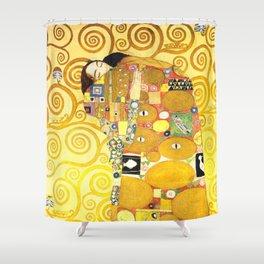 "Gustav Klimt ""Fulfillment"" Shower Curtain"