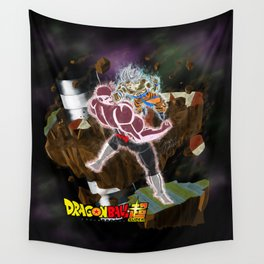 Goku vs Jiren Wall Tapestry