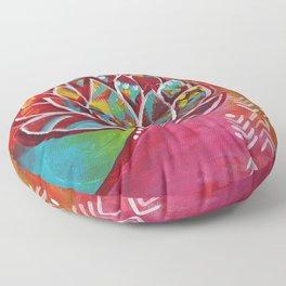 Blooming Beauty Floor Pillow