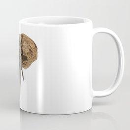 head elephant, africa Coffee Mug