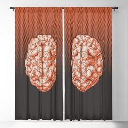 Puzzle brain GINGER / Your brain on puzzles Blackout Curtain