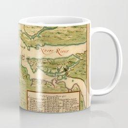 Map Of New York 1639 Coffee Mug