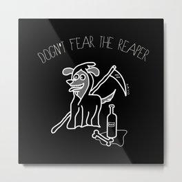 Reaper Dog Metal Print