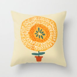 I'm a flower - be the best you can be Throw Pillow