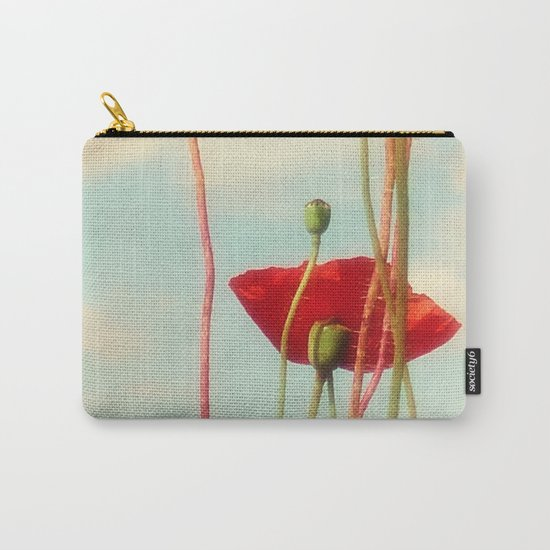 Lost Poppies Carry-All Pouch