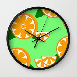 Come Orange'inal Wall Clock