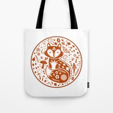 Copper Fox Tote Bag