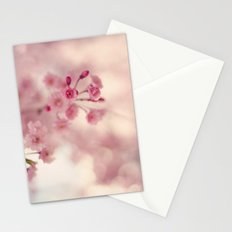 Weeping Willow Flowers Stationery Cards