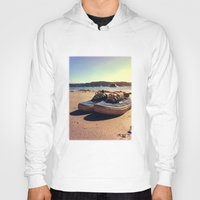 vans Hoodies featuring Beached Vans by Zakvdboom Designs