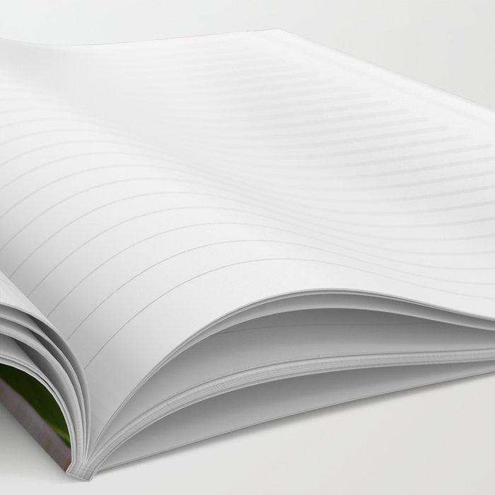 Peony - Raspberry Swirl Notebook