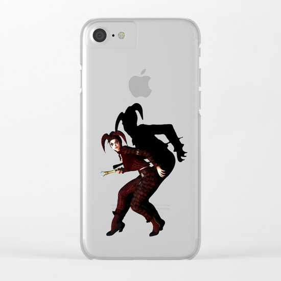 Fool Clear iPhone Case