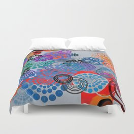 Abstract conposition 414 Duvet Cover