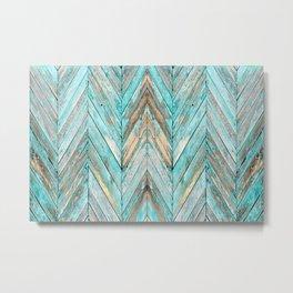 Wood Texture 1 Metal Print