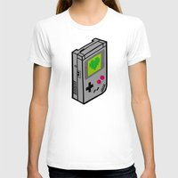 gameboy T-shirts featuring Gameboy Love by Artistic Dyslexia