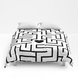 Woody Allen MANHATTAN movie poster Comforters