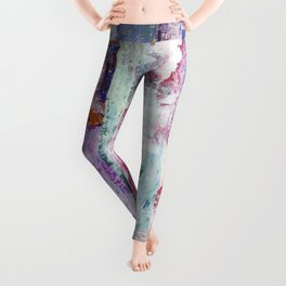 Abstract 195 Leggings