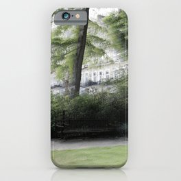 The Redcliff Square Gardens in London iPhone Case