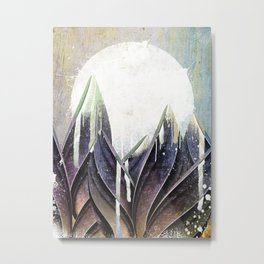My magical beans garden Metal Print