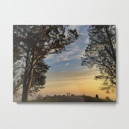 Mt. Davidson Sunrise Metal Print
