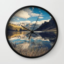Reflets Wall Clock