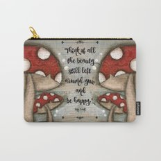 Mushrooms - by Diane Duda Carry-All Pouch